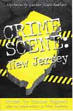 "Book cover of ""Crime Scene: New Jersey"""